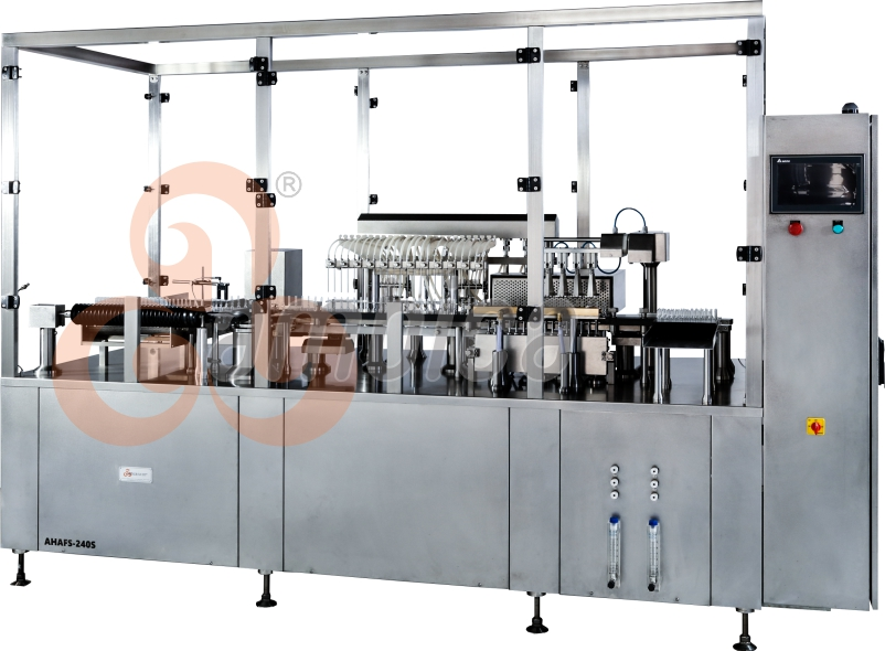 Automatic High Speed Multi-Axis Servo Driven Ampoule Filling and Sealing Machines