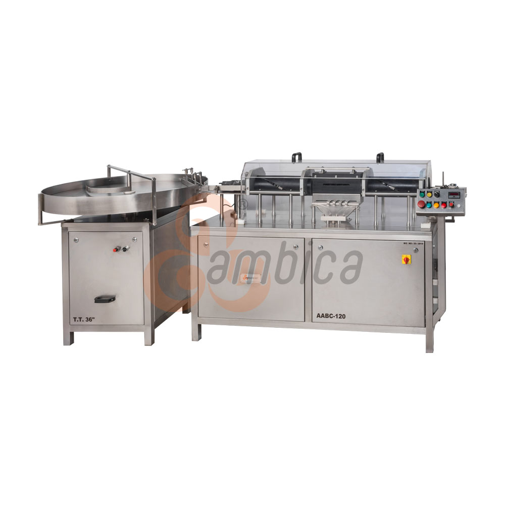 Automatic Bottle/Jar Air & Vacuum Cleaning Machine (Inverter Type)