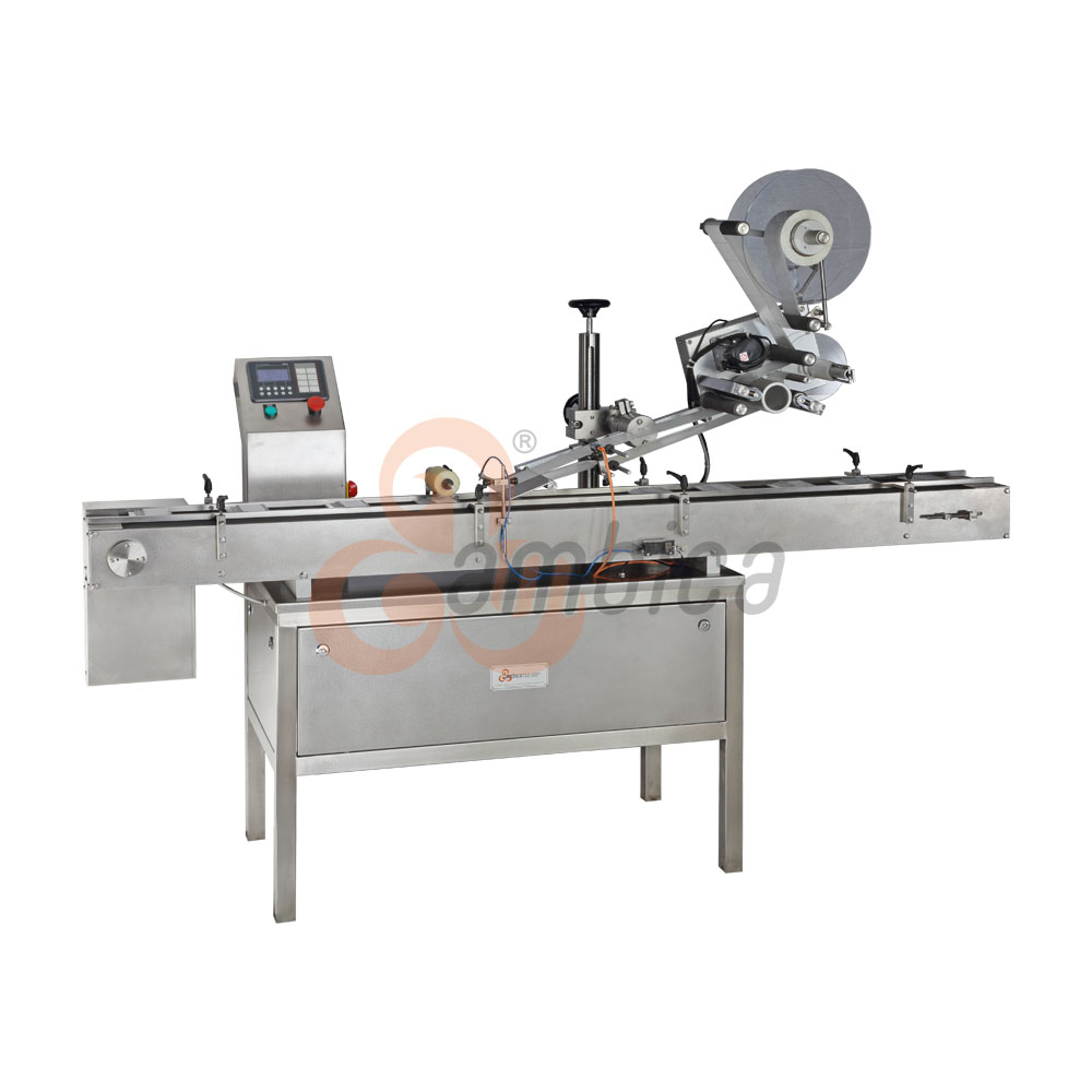 Automatic High Speed Top Side Self-Adhesive (Sticker) Labelling Machine