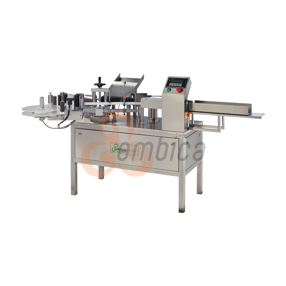 Automatic High Speed Vertical Ampoule Self Adhesive (Sticker) Labelling Machines