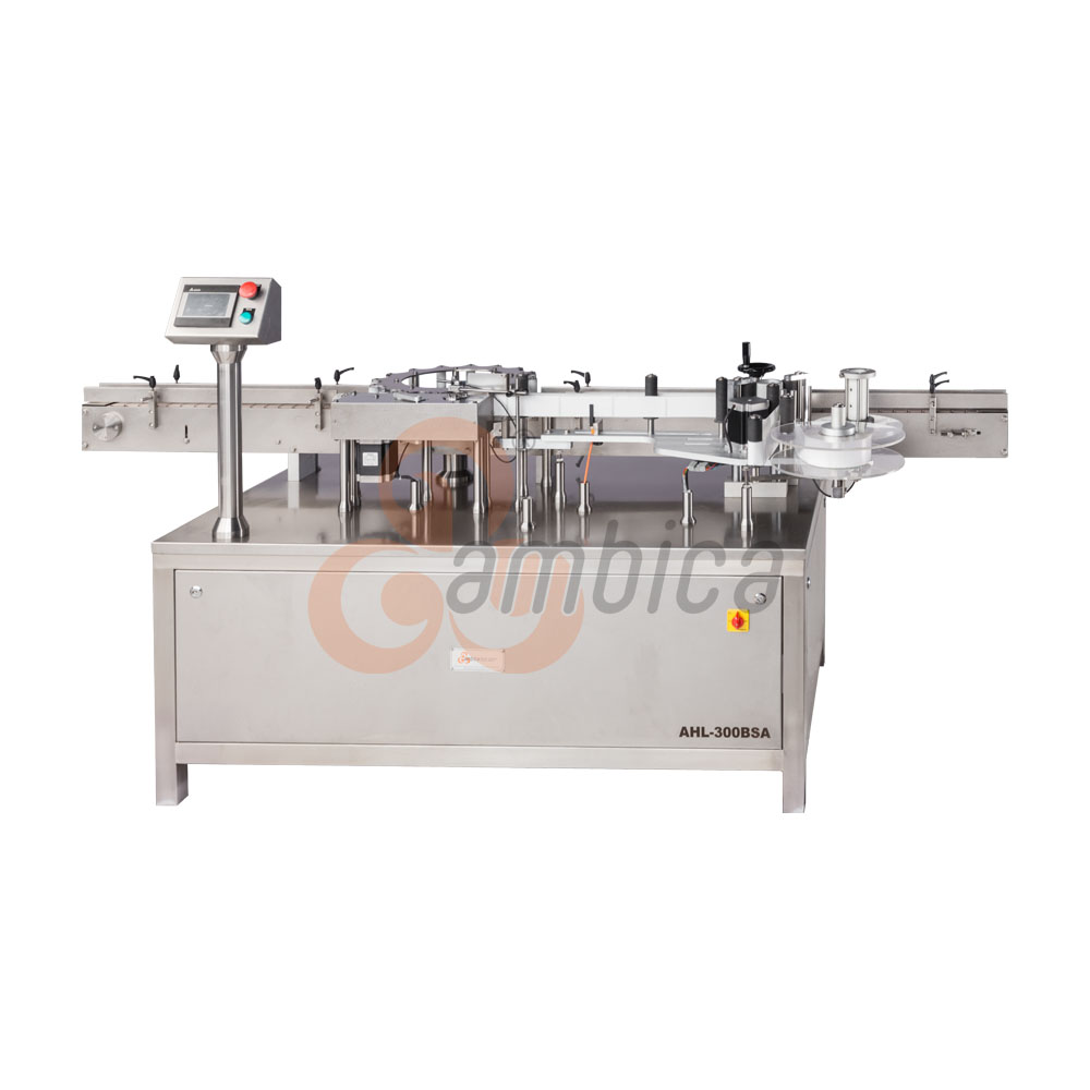 Automatic High Speed Self-Adhesive (Sticker) Rotary Labelling Machine for Round Containers