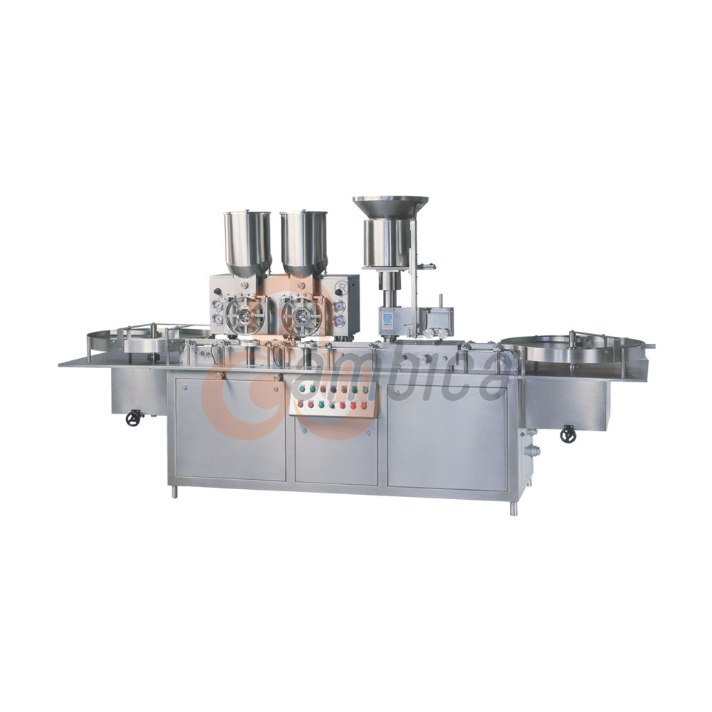 Automatic High Speed Injectable Dry Powder Filling with Rubber Stoppering Machines AHPF-120 and AHPF-250D