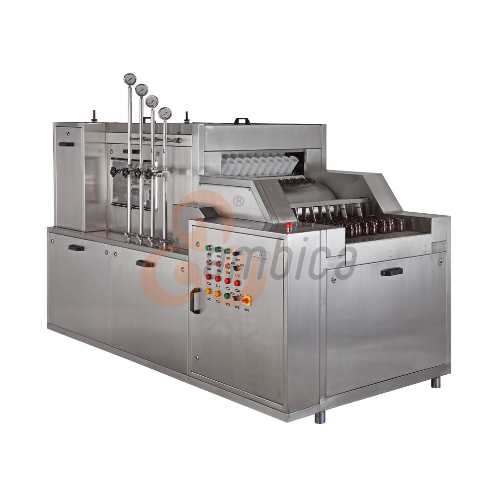 Automatic High Speed Tunnel Type Vial Washing Machines
