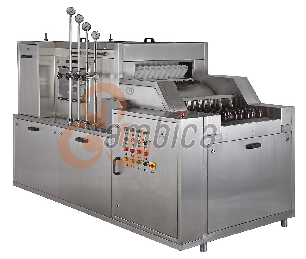 Automatic High Speed Tunnel Type Bottle Washing Machines